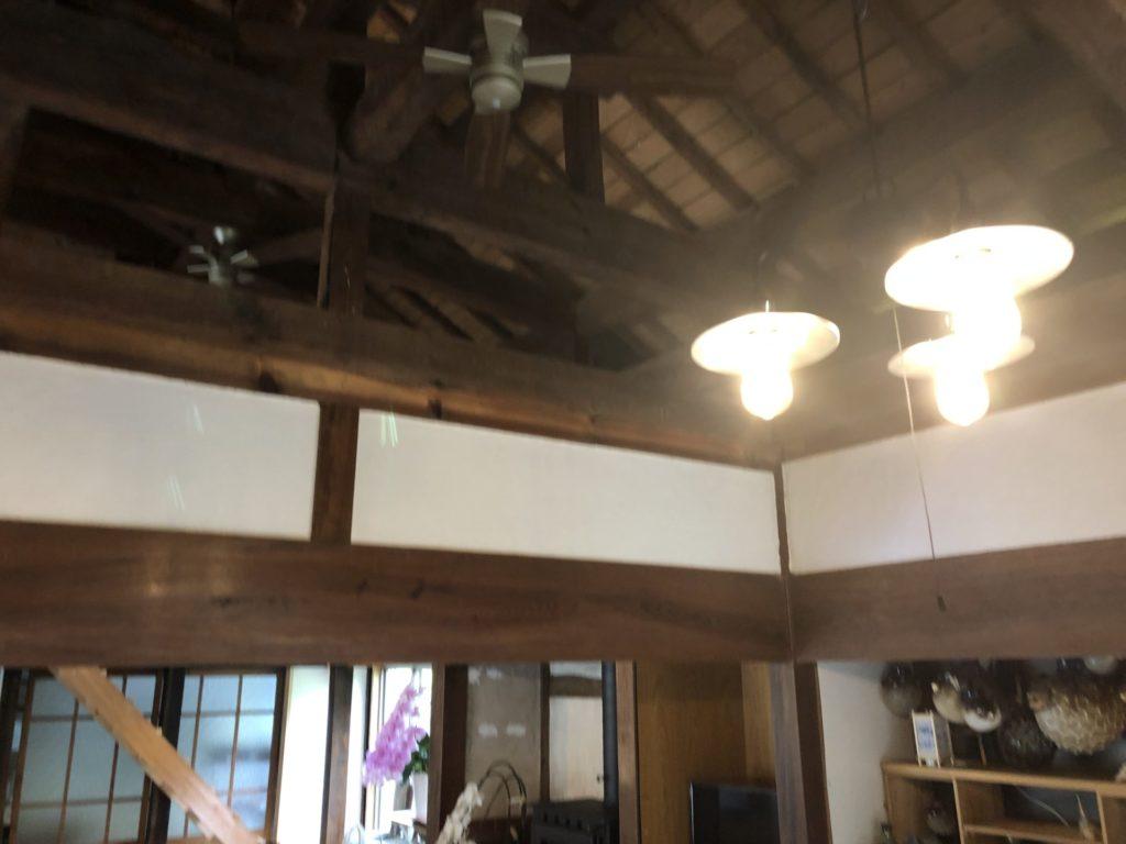 いちふくの天井は明治建築