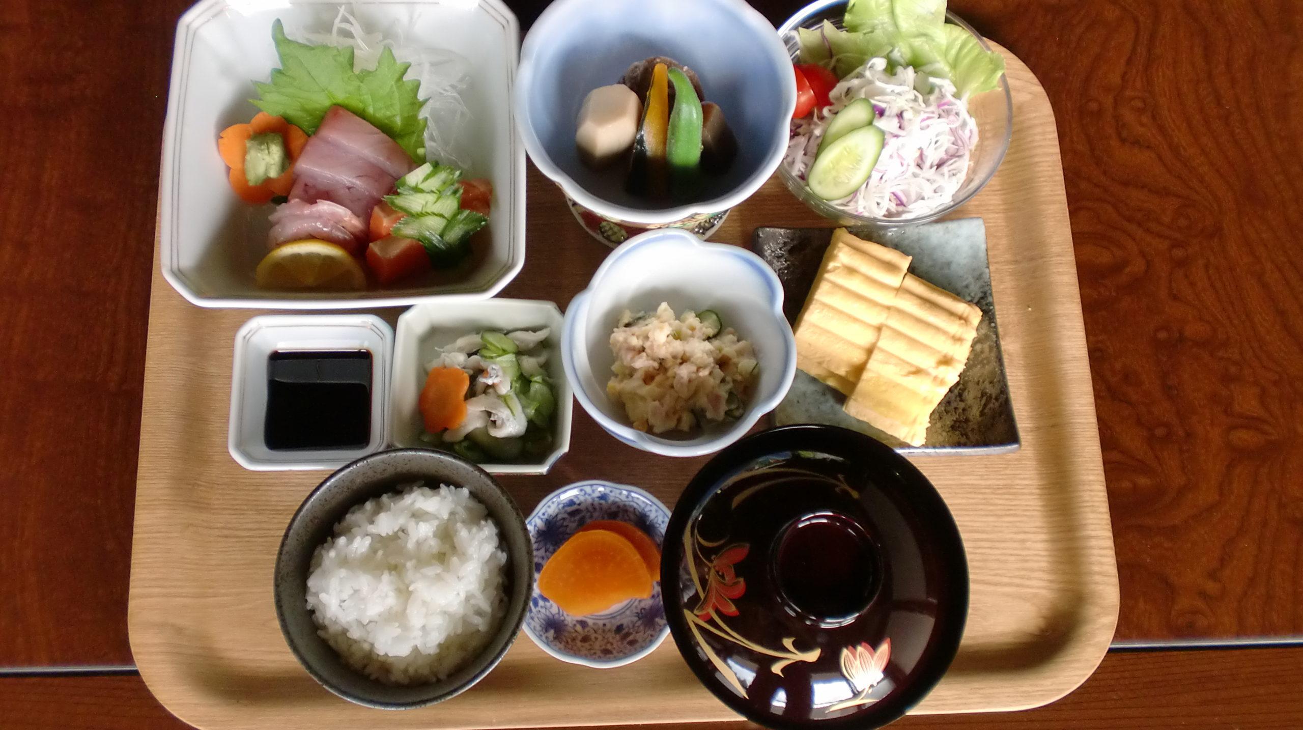 宮崎県東郷町古民家いちふく料理写真G